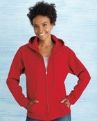 Gildan Heavy Blend Ladies' Full-Zip Hooded Sweatshirt