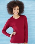 Gildan Heavy Cotton Missy Fit Long Sleeve T-Shirt