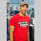 WGN 'Man of the People' T-shirt