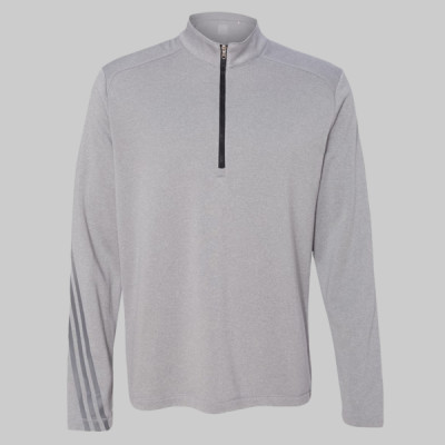 Golf Brushed Terry Heather Quarter-Zip Jacket