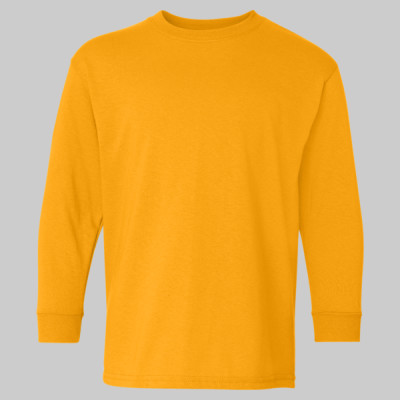 Gildan Youth Heavy Cotton Long Sleeve T-Shirt