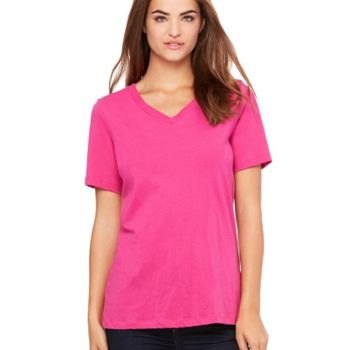 Women's Relaxed Jersey V-Neck Tee Thumbnail