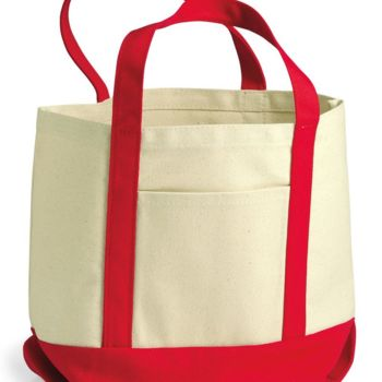 Seaside Boater Tote Thumbnail
