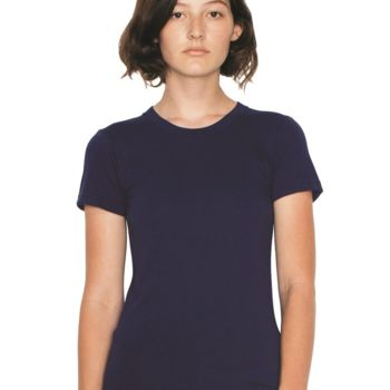 Women's Fine Jersey T-Shirt - USA Thumbnail