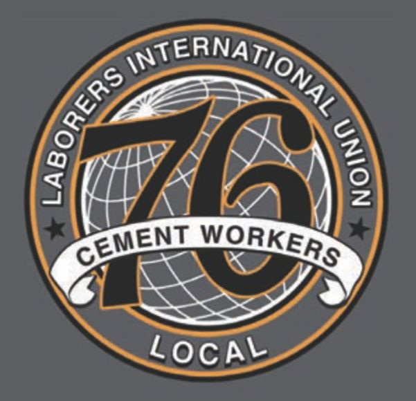 76 local laborers cement workers