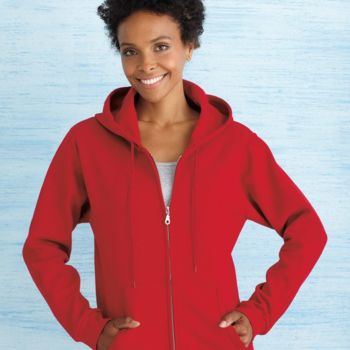Heavy Blend™ Missy Fit Full-Zip Hooded Sweatshirt Thumbnail