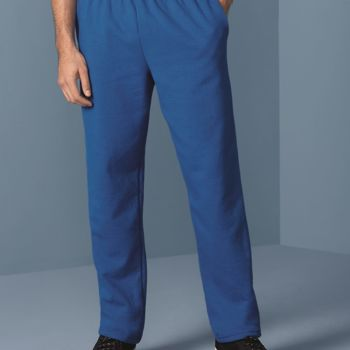 Heavy Blend Open Bottom Sweatpants with Pockets Thumbnail